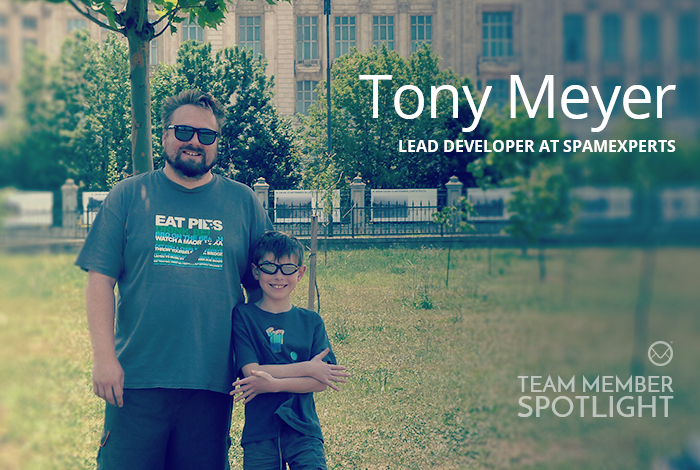 Tony Meyer Lead Developer