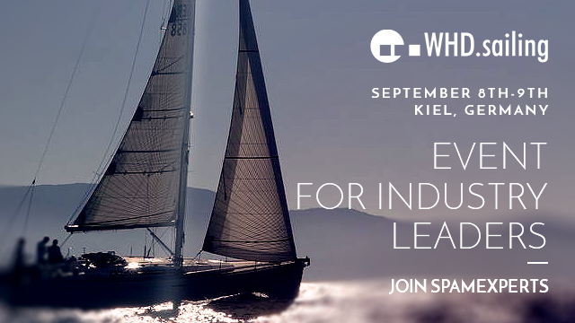 SpamExperts attends the first World Hosting Days Sailing