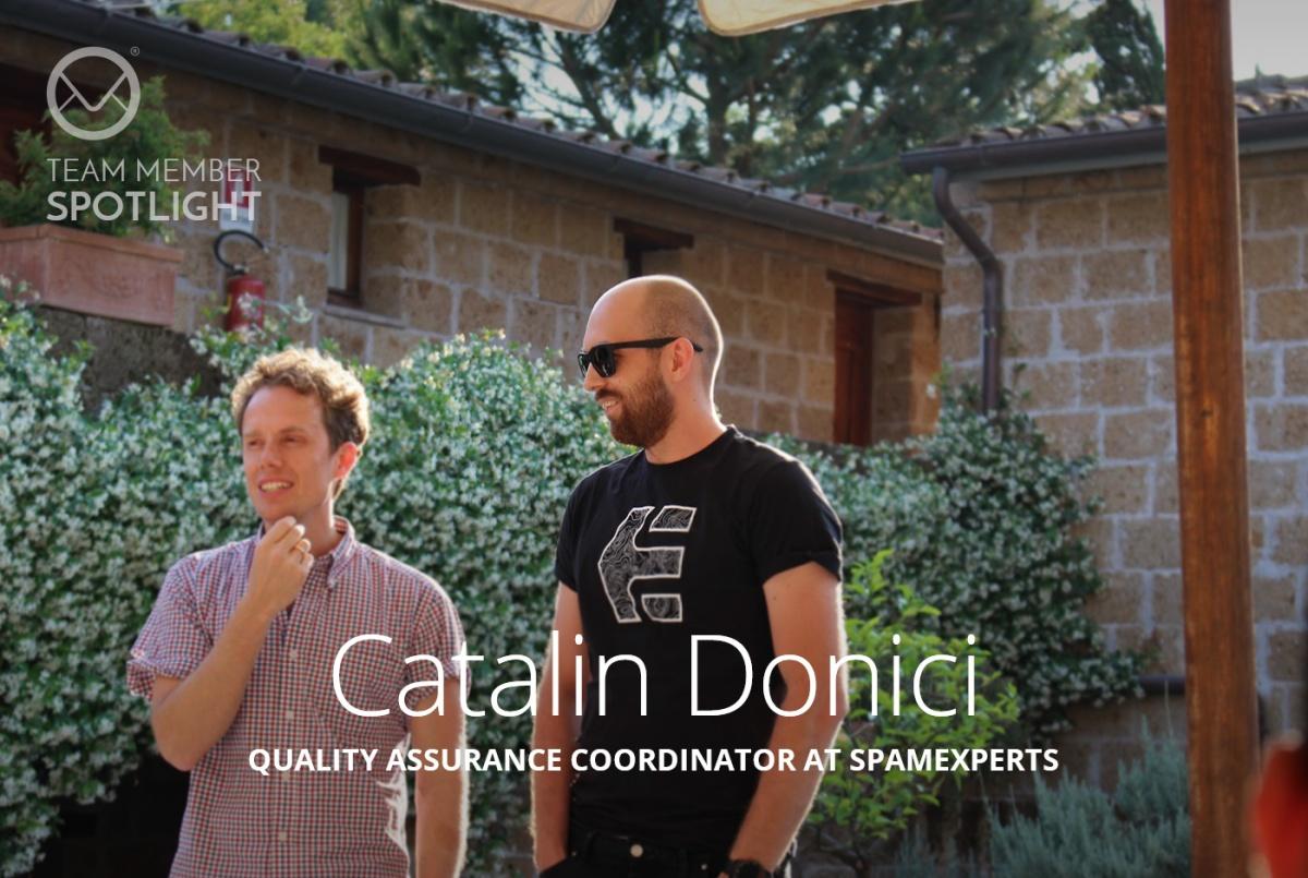 Spamexperts Team Member Spotlight Catalin Donici Studyelectronics Just Another Wordpresscom Site