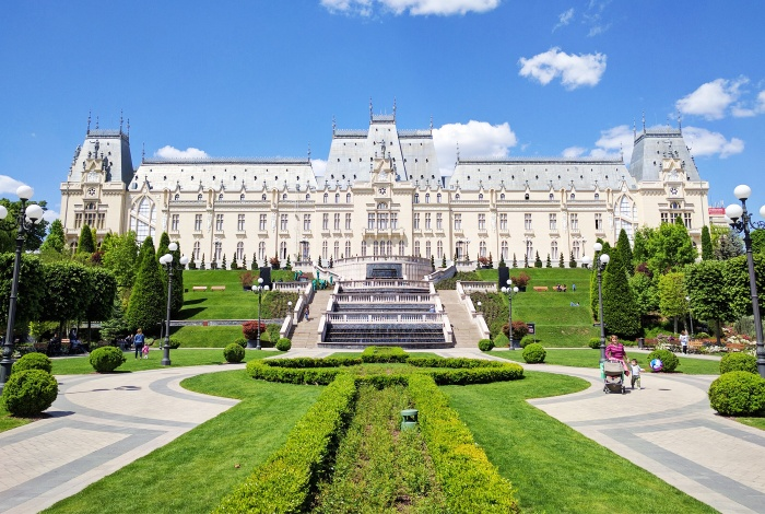 The city of Iasi, in Romania